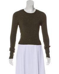A.L.C. - Wool Knit Sweater Gold - Lyst