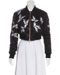 Self-Portrait - Embroidered Crop Jacket W/ Tags - Lyst