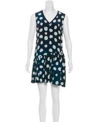 Timo Weiland - Silk Mini Dress W/ Tags - Lyst