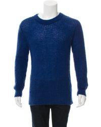 BLK DNM - Mohair-blend Knit Sweater - Lyst