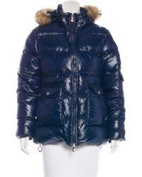 Pyrenex - Fur-trimmed Puffer Jacket - Lyst