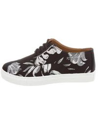 Clover Canyon - Floral Printed Low-top Sneakers W/ Tags - Lyst