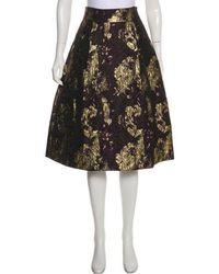 Day Birger et Mikkelsen - Knee-length A-line Skirt Purple - Lyst