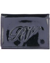 Roger Vivier - Logo Card Holder Black - Lyst