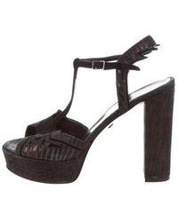 Just Cavalli - High-heel Platform Sandals - Lyst