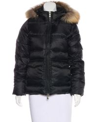 Pyrenex - Fur-trimmed Down Jacket - Lyst
