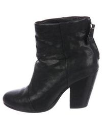 Rag & Bone - Newbury Leather Boots - Lyst