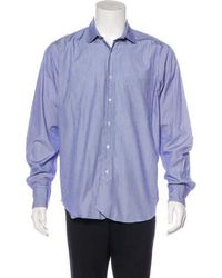 Black Fleece By Brooks Brothers - Striped Woven Shirt - Lyst