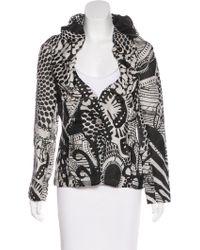 Christian Lacroix - Silk Printed Jacket - Lyst