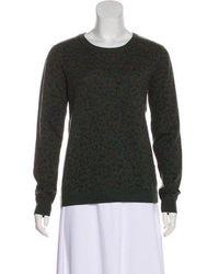 Gryphon - Wool Leopard Print Sweater - Lyst