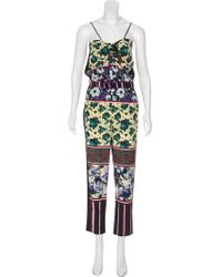Clover Canyon - Printed Sleeveless Jumpsuit - Lyst