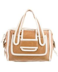 Pierre Hardy - Alpha Handle Bag Gold - Lyst