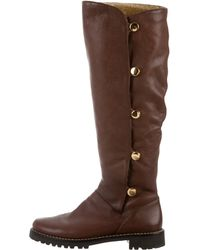 Kors by Michael Kors - Kors By Michael Leather Knee-high Boots Brown - Lyst