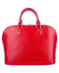 Louis Vuitton - Epi Alma Mm Red - Lyst