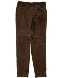 Tomorrowland - Flat Front Casual Corduroy Pants W/ Tags - Lyst