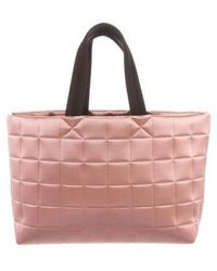 Pedro Garcia - Quilted Metallic Tote Bag - Lyst