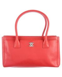 Chanel - Small Cerf Tote Terracotta - Lyst