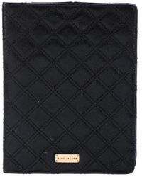 Marc Jacobs - Quilted Ipad Case Black - Lyst