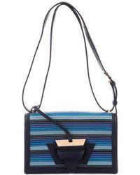 Loewe - Small Barcelona Bag Blue - Lyst