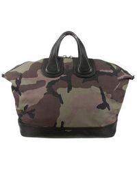 Givenchy - Large Camouflage Nightingale Bag Green - Lyst