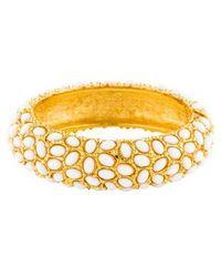 Kenneth Jay Lane - Cabochon Bracelet Gold - Lyst