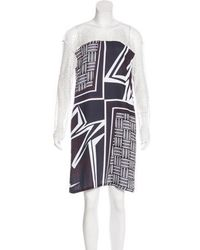 Clover Canyon - Abstract Print Shift Dress - Lyst