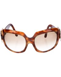 Roger Vivier - Gradient Square Sunglasses Brown - Lyst