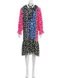 Duro Olowu - Patterned Midi Dress - Lyst