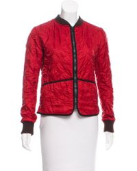 Golden Goose Deluxe Brand - Casual Quilted Jacket Red - Lyst