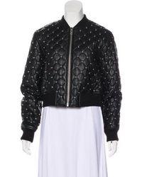 MICHAEL Michael Kors - Michael Kors Studded Leather Jacket W/ Tags Black - Lyst