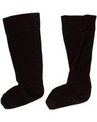HUNTER - Fleece Welly Socks - Lyst