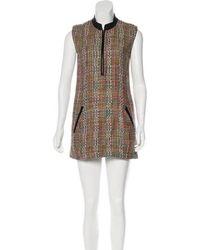 Theyskens' Theory - Sleeveless Mini Dress Multicolor - Lyst