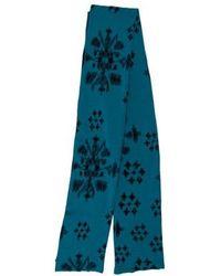 Baja East - Knit Floral Pattern Shawl - Lyst