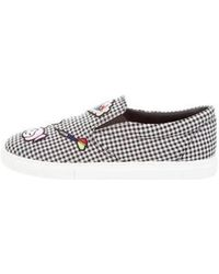 Mira Mikati - Houndstooth Slip-on Sneakers W/ Tags - Lyst
