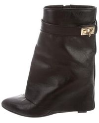 Givenchy - Shark-lock Ankle Boots Black - Lyst