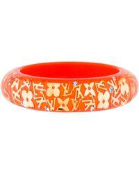 Louis Vuitton - Wide Inclusion Bangle Orange - Lyst