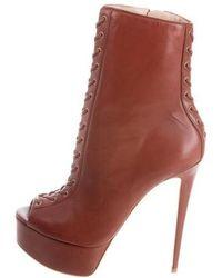 Ruthie Davis - Cara Platform Boots W/ Tags - Lyst