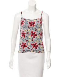 John Galliano - Printed Knit Top - Lyst