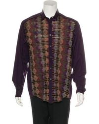 Missoni - Woven Button-up Shirt - Lyst