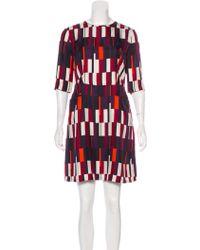 Rag & Bone - Silk Patterned Dress - Lyst