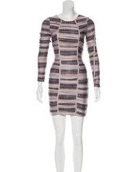Torn By Ronny Kobo - Animal Print Mini Dress - Lyst
