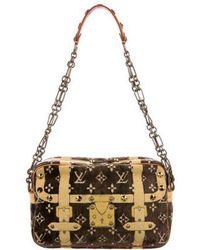Louis Vuitton - Trompe L'oeil Trocadero Bag Brown - Lyst