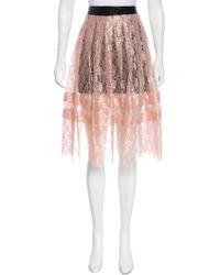 Philosophy Di Lorenzo Serafini - Lace Knee-length Skirt W/ Tags - Lyst