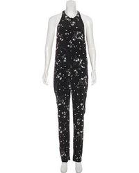 aa593e0fe9c6 A.L.C. - Sleeveless Mid-rise Jumpsuit Black - Lyst