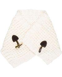 MICHAEL Michael Kors - Michael Kors Chunky Knit Scarf - Lyst
