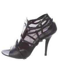 Givenchy - Caged Peep-toe Pumps - Lyst