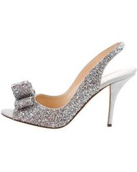 aa4684a6a3b0 Lyst - Kate Spade Glitter Pointed-toe Pumps Gold in Metallic