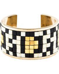Givenchy - Mosaic Cuff Gold - Lyst