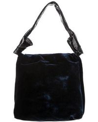 The Row - Small Wander Bag Blue - Lyst