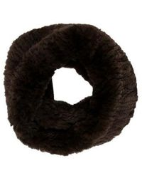 Yves Salomon - Knitted Fur Muffler W/ Tags - Lyst